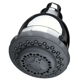 Show details of Culligan WHS-C125 Wall-Mount 10,000 Gallon Capacity Filtered Showerhead, Chrome Finish.